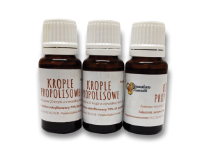 Krople z propolisem 15 ml